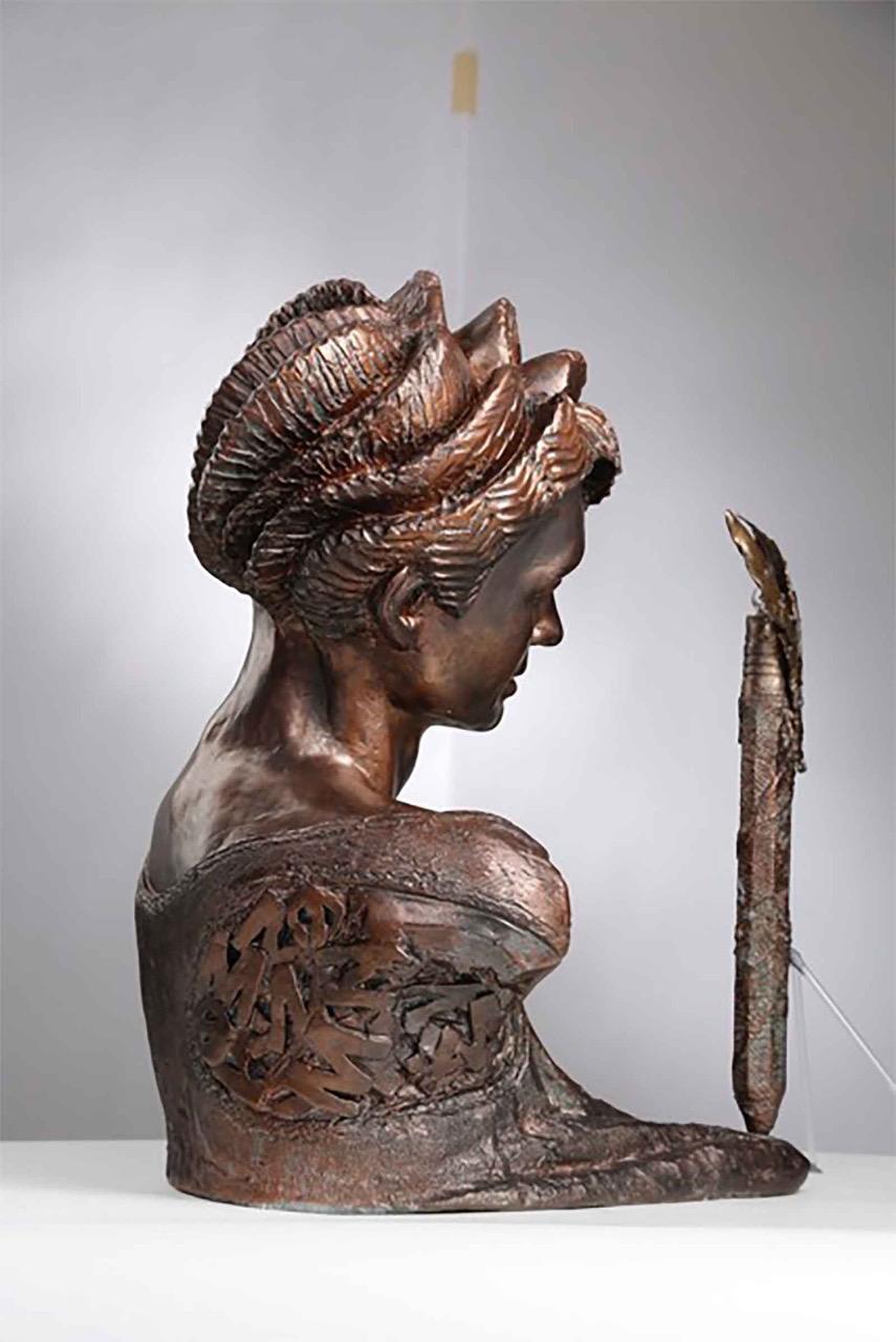 The-Poetesse-plaster-Dany-detail