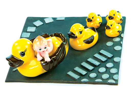 Yellow Duck Bed